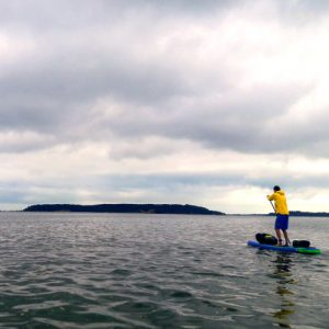 SUP and camp on Brownsea Island