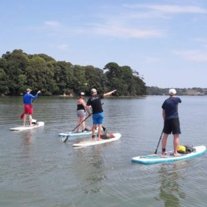 River Dart Totnes to Dartmouth with SUP Bristol