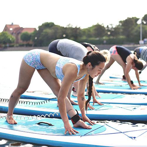 SUP Yoga - SUP Bristol & Trika