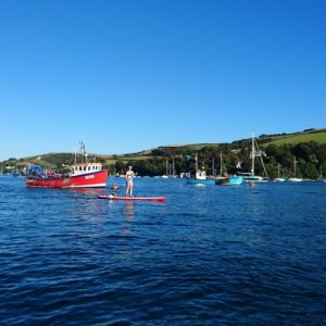 SUP Bristol paddleboarding trips to the coast - Salcombe harbour
